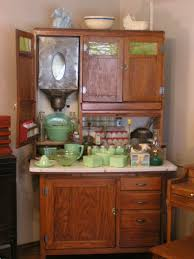 Possum Belly Kitchen Cabinet by The Vintage Kitchen Oklahoma Pastry Cloth