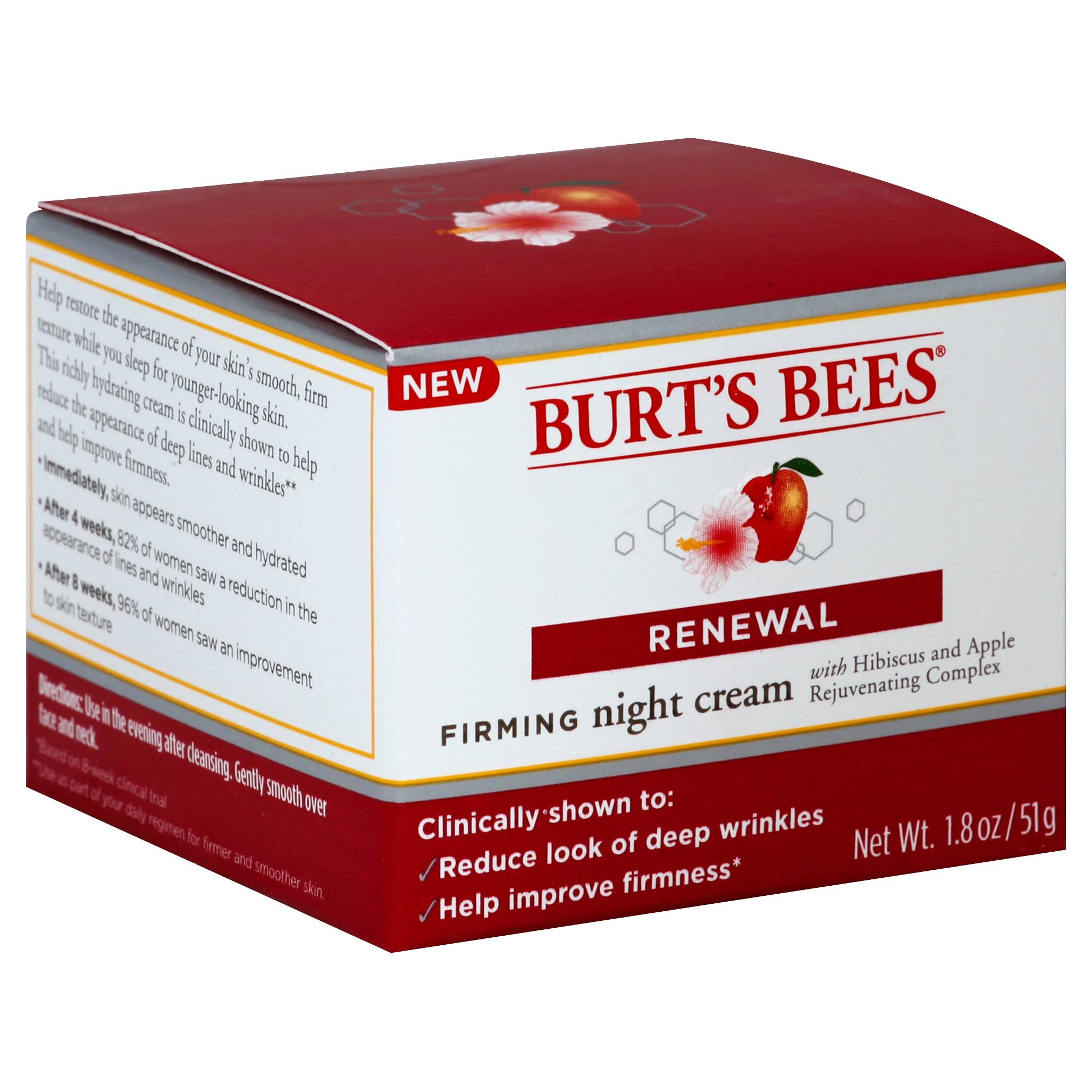 Burt's Bees Renewal Firming Night Cream - 1.8 oz