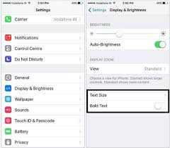 3 Ways to Change Font Size and Style on iPhone 7 7 Plus