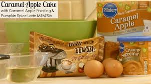 Pumpkin Cake Mix by Caramel Apple Cake With Caramel Apple Frosting U0026 Pumpkin Spice