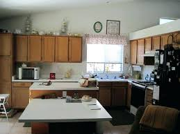 Attached Kitchen Island With Table Eating
