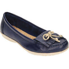 Hush Puppies Ceil Mocc Fringe Flats by Hush Puppies Loafers Moccasins 100 Leather Flats For Women Ebay