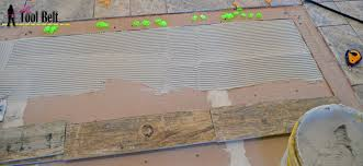 Mapei Thinset For Glass Tile by How To Install Wood Tile Barnwood Her Tool Belt