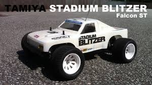 100 Stadium Truck Tamiya Blitzer 2WD 110 RC RUNNiNG ViDEO