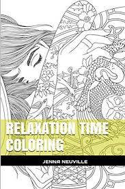Relaxation Time Coloring Meditation And Mandala Book For Adults Books