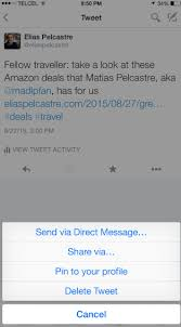 How to pin a tweet to your profile on an iPhone iPad or Android