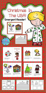 Christmas Tree Books For Kindergarten by Christmas Around The World Usa Emergent Reader Christmas In The