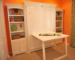 Murphy Bed Office Desk Combo by Murphy Bed Craft Space For Spare Room Perfect For A