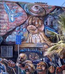 Chicano Park Murals Meanings by Home Savings In A Changing Highland Park The Cultural Civil War