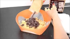 comment réaliser des cookies aux pépites de chocolat avec nestlé