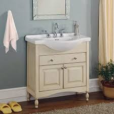 18 Inch Bathroom Vanity Without Top by Narrow Bathroom Vanities A Simple Solution For Small Throughout