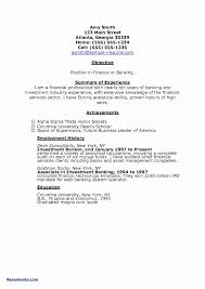 Bad Resume Examples For Highschool Students Of Resumes