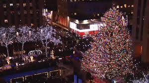 Rockefeller Christmas Tree Lighting 2018 by 85th Annual Rockefeller Christmas Tree Lighting Draws Thousands