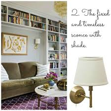 6 great wall sconces for the home library ls plus