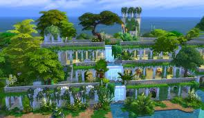 100 Images Of Hanging Gardens Mod The Sims Of Babylon VerII No CC