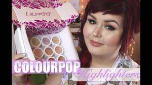 Colourpop Highlighters | Haul & Swatches Huge Colourpop Haul Lipsticks Eyeshadows Foundation Palettes More Colourpop Blushes Tips And Tricks Demo How To Apply A Discount Or Access Code Your Order Colourpop X Eva Gutowski The Entire Collection Tutorial Swatches Review Tanya Feifel Ultra Satin Lips Lip Swatches Review Makeup Geek Coupon Youtube Dose Of Colors Full Face Using Only New No Filter Sted Makeup Favorites Must Haves Promo Coupon