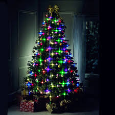 64 LED Lights Christmas Tree String Flashing Outdoor Lantern Home Party Decor 110