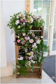 Tumbling Rustic Floral Crate Arrangement At Northbrook Park Flowers By Eden