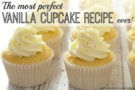 Classic English Vanilla Cupcake Recipe