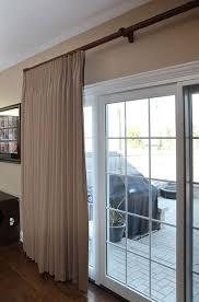 drapery on sliding glass door spruce interiors