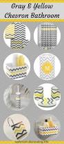 Gray And Yellow Bathroom Decor Ideas by Chevron Bathroom Decor Chevron Bathroom Decor Chevron Bathroom
