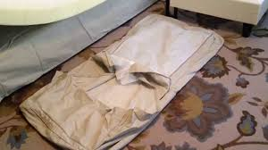 how to replace install change cover on ikea ektorp loveseat with