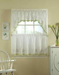 Kmart Curtains And Valances by Sheer Kitchen Curtains Valances Adeal Info