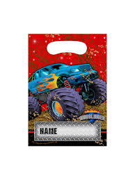 Monster Truck Loot Bags (8-pack)   Kid, Trucks And Bags Monster Jam 3d Sticker Sheet1 Jam Monsters And Party September 2010 Modern Hostess Page 2 Colors Truck Supplies Nz With Birthdayexpresscom Ideas For A 70th Birthday Invitation Tags 70th An Eventful 5th Its Fun 4 Me Product Categories Trucks South Africa