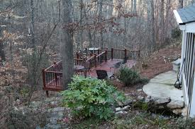 DIY Backyard Deck By #HandyHubby Landscaping Design For Small Spaces Best Sloped Backyard Deck Deck Plans Hgtv Taming A Slope Sunset Best 25 High Ideas On Pinterest Railings Diy Storage Sloping Sloped Backyard Designs Decks How To Build Floating 3 Steps Under Foot Outdoor Flooring Buyers Guide Make Dynamic Statement With Multilevel Gardening Building 24 X 20 Steep Slope Backyards And Design Ideas Interior