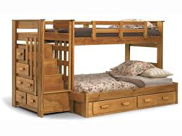 stairs bunk beds for kids with plans and drawers furniture bedroom