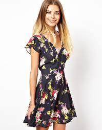 love skater dress in pretty floral dress pinterest florals