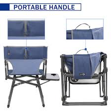 PORTAL Compact Folding Directors Chair Heavy Duty Folding Chair Padded Full  Back With Carry Strap,Side Table And Armrest,Supports 300 Lbs Amazoncom Pnic Time Nhl Arizona Coyotes Portable China Metal Chair Folding Cujmh Ultralight Camping Compact Lweight Bpacking Beach Chairs With Carry Bag For Outdoor Camp Pnic Hiking Travel Best Gaming Computer Top 26 Handpicked Hercules Colorburst Series Twisted Citron Triple Braced Double Hinged Seating Acoustics Fniture Storage How To Reupholster A Ding Seat Pictures Wikihow Better Homes And Gardens Bankston Set Of 2 2019 Fniture Solutions For Your Business By Payless Gtracing Bluetooth Speakers Music Video Game Pu Leather 25 Heavy Duty Tropitone