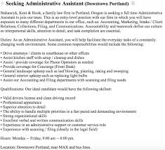 Front Desk Jobs Nyc Craigslist by The Worst Job Description In Law Above The Law