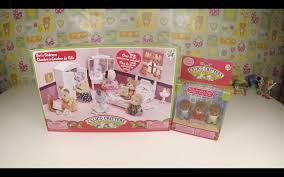 calico critters s lavender bedroom set youtube