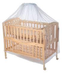 Mee Mee Baby Wooden Cot With Swing & Mosquito Net Buy Mee Mee