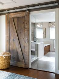 Rustic Sliding Barn Doors Bathrooms Design Elegant How To Make ... Barn Style Doors Bathroom Door Ideas How To Install Diy Network Blog Made Remade Bathrooms Design Froster Sliding Shower Doorssliding Fancy Privacy Teardrop Lock For Modern Double Sink Hang The Home Project Kids Window Cover For The Fabulous Master Bath Entrance With Our Antique Rustic Modern Industrial Cabinet