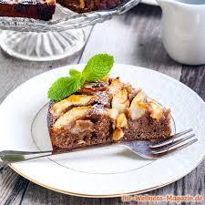 saftiger low carb schoko birnenkuchen rezept ohne zucker