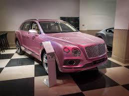 100 Bentley Truck 2014 Pink Bentayga At Jack Barclay HR Owen Mayfair London