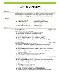 13 Warehouse Worker Resume Examples Sample Resumes Rh Com Skills And Qualifications Objective