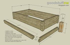 Wood Raised Garden Bed Plans Wood PDF Plans easy woodworking