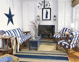 Nautical Decor Ideas Living Room Blue And White