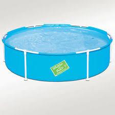 My First Frame Pool 60x15 Mini Round Kids Wading Kiddie Swimming
