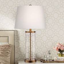 Fillable Table Lamp Clear Glass by Glass Table Lamps For Cinderella Charm Lamps Plus