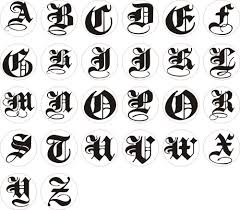 Alphabet Different Style Different Letter Styles