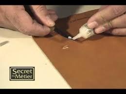 réparer un canapé en cuir réparation du cuir les accrocs