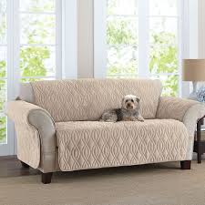 Sure Fit Sofa Covers Ebay by This Deluxe Quilted Fleece Like Sofa Cover Is Designed To Wrap