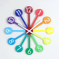 Large Colorful Wall Clocks First Class Delightful Design Top 5 Nextime