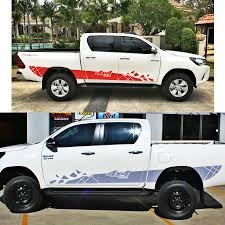 Customize FOR TOYOTA HILUX VIGO REVO Car Modified Accessories ...
