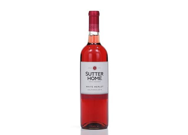 Sutter Home Family Vineyards White Merlot - California