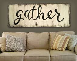 Amazon Gather Here With Grateful Hearts Rustic Wooden Sign